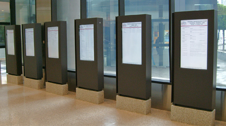 wallflower global digital signage at australian federal court